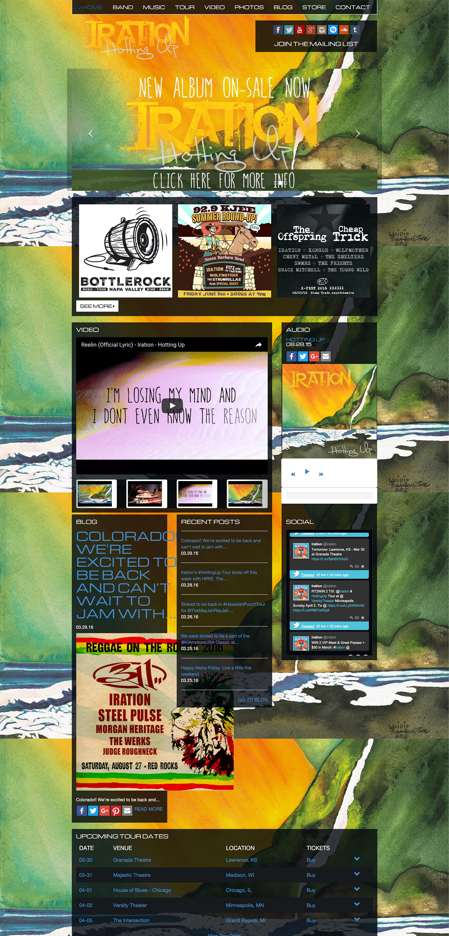 Iration website built by Aquatic in San Francisco